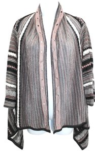 Missoni Multicolor Open Front Knit Top