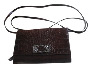 Brighton Leather Vintage Cross Body Bag