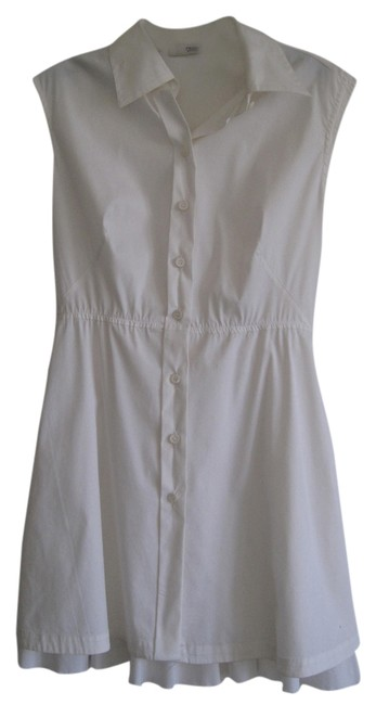 Prada Long Work Workwear Business Casual Top White