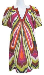 Trina Turk short dress Multicolor Silk on Tradesy