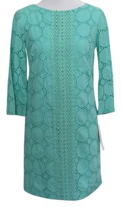 Maggy London short dress Light Aqua on Tradesy