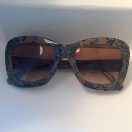 Andy Wolf Limited Edition Handmade Lace & Acetate Sunglasses