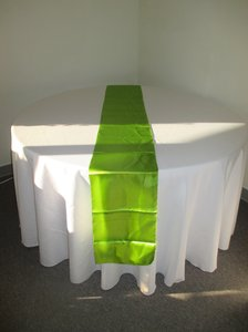 28 Satin Sage Table Runners- Free Ship