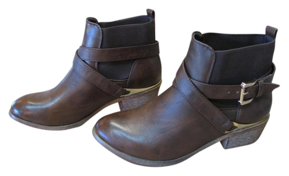 DEB Brown New Excellent Condition Condition Excellent Boots/Booties 132901
