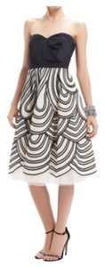 Oscar de la Renta Skirt White & Black