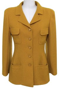 Chanel Yellow Blazer