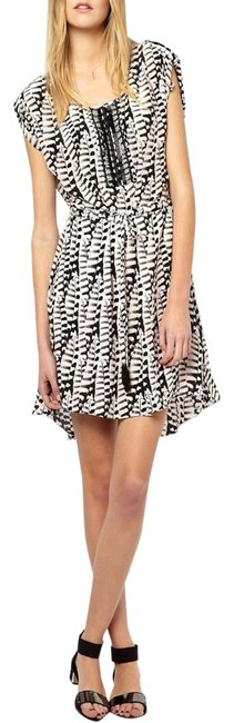 Anthropologie short dress Silk Embroidered Embellished Beaded Print on Tradesy Image 1