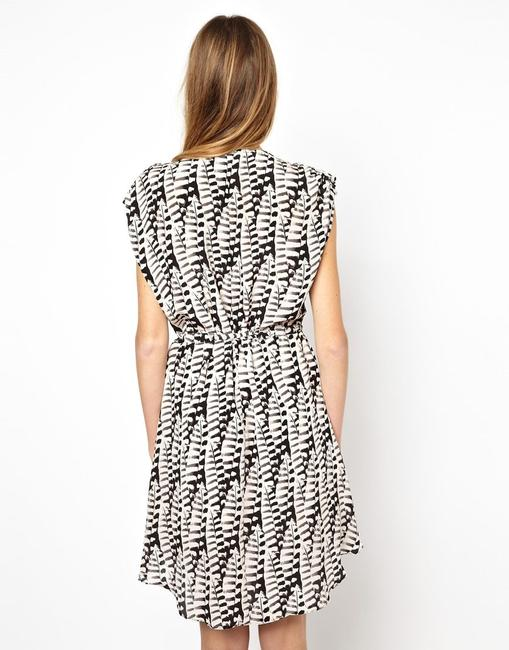 Anthropologie short dress Silk Embroidered Embellished Beaded Print on Tradesy Image 2
