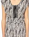 Anthropologie short dress Silk Embroidered Embellished Beaded Print on Tradesy Image 3