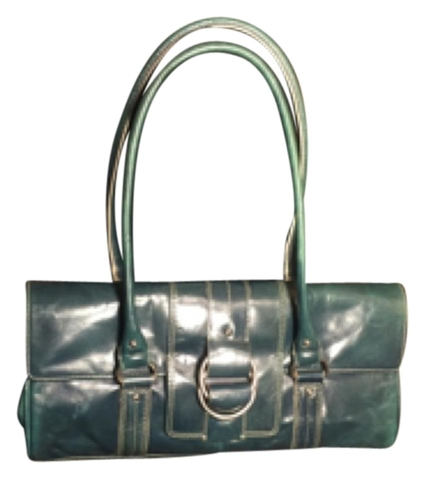 Kenneth Cole Satchel In Dark Seafoam Green