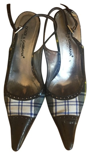 Dolce&Gabbana plaid Pumps