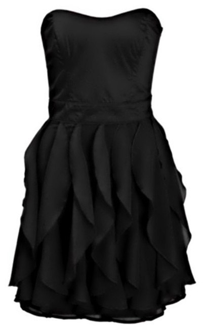French Connection Flowy Panels Strapless Dress