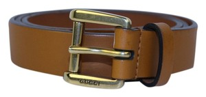 Gucci [ENTERPRISE] Gucci Brown Belt Size 34 GGTL195