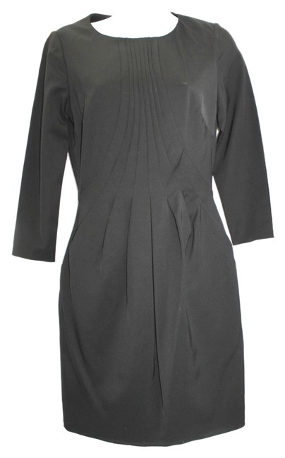 Preload https://item4.tradesy.com/images/reiss-pleated-front-black-knee-length-workoffice-dress-size-4-s-5306383-0-0.jpg?width=400&height=650