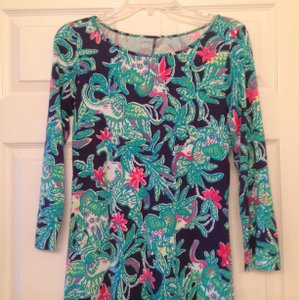 Lilly Pulitzer short dress Green, turquoise on Tradesy