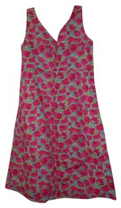 Garnet Hill short dress PINK on Tradesy
