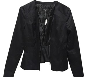 Attention Coat Jacket Black Blazer