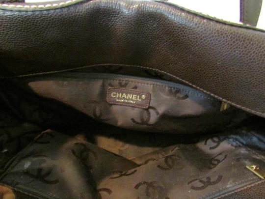 Chanel Leather Cc Shoulder Bag