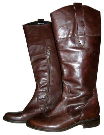 Preload https://img-static.tradesy.com/item/530700/brown-vintage-leather-riding-made-italy-bootsbooties-size-us-75-regular-m-b-0-0-540-540.jpg