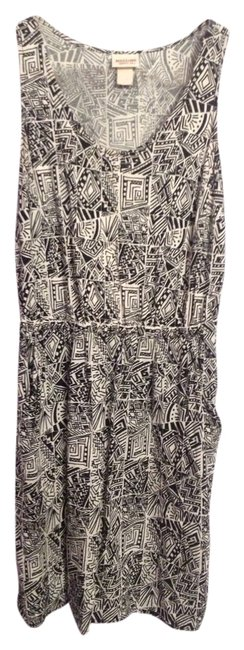Mossimo Supply Co. short dress Black and white pattern on Tradesy
