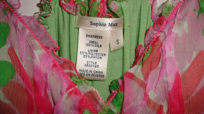 Sophia Max short dress Multi on Tradesy