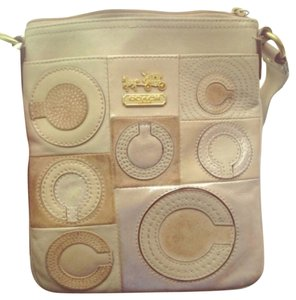 Coach Beige Messenger Bag