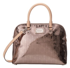 Michael Kors Satchel in Nickel