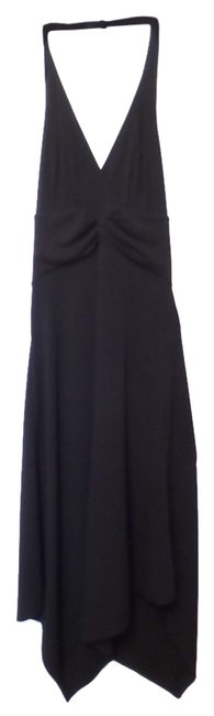 BCBG Paris Lbd Halter Asymmetrical Cocktail Xs Dress