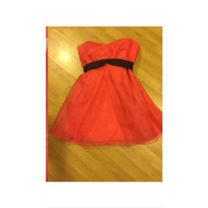 Vera Wang Coral Dress