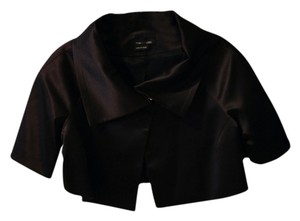 Max and Cleo Satin Capelet Black Blazer
