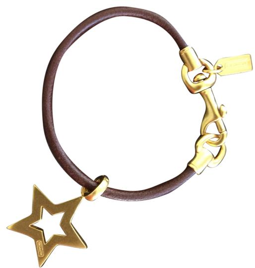 Preload https://item4.tradesy.com/images/coach-browngold-slim-leather-with-star-charm-bracelet-5307868-0-0.jpg?width=440&height=440