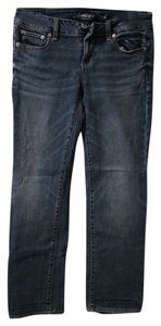American Eagle Outfitters Straight Leg Jeans-Light Wash