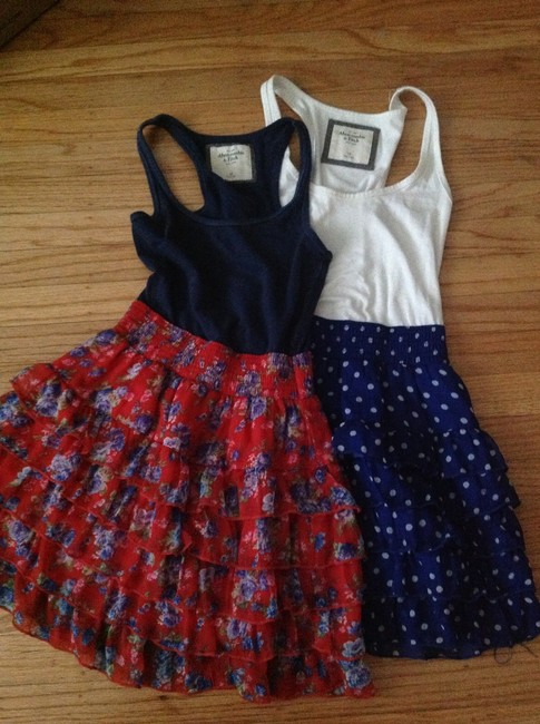 Item - Multicolor Lot Of Two A&f Above Knee Short Casual Dress Size 0 (XS)