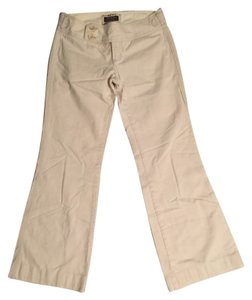 Abercrombie & Fitch Wide Leg Pants Beige