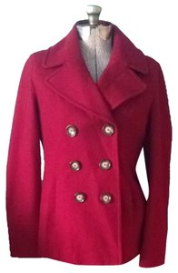 MICHAEL Michael Kors Wool Blend Pea Coat
