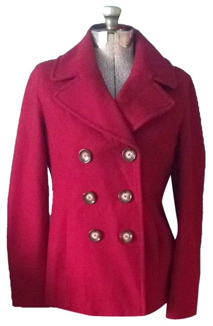 Preload https://img-static.tradesy.com/item/5308876/michael-michael-kors-red-pea-coat-size-8-m-0-0-650-650.jpg