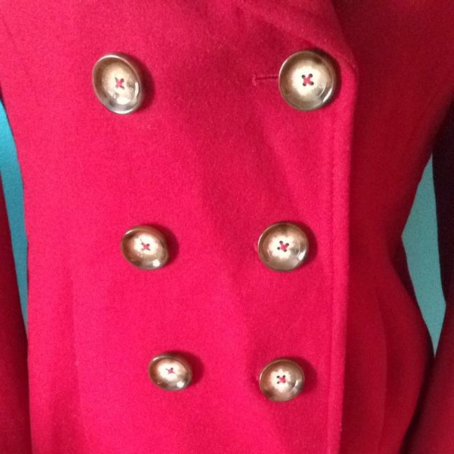 MICHAEL Michael Kors Wool Blend Pea Coat Image 1