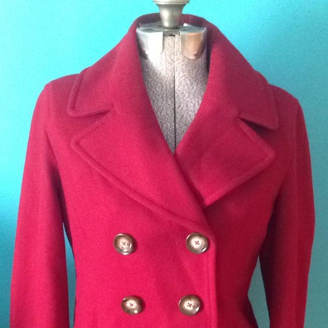 MICHAEL Michael Kors Wool Blend Pea Coat Image 2