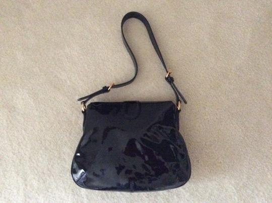 Gucci Patent Leather Shoulder Bag