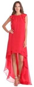 BCBGMAXAZRIA Red Cocktail Dress