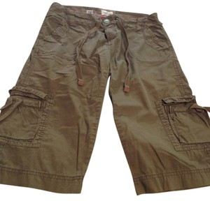 American Eagle Outfitters Cargo Shorts Olive Green