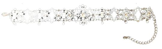 Other Silver and Rhinestones Choker