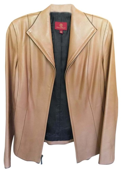 Preload https://item2.tradesy.com/images/cole-haan-camel-color-lamb-leather-jacket-size-4-s-5309296-0-0.jpg?width=400&height=650