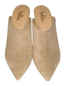 Belle by Sigerson Morrison Taupe Suede Mules
