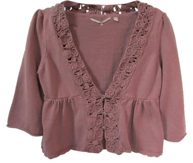 Preload https://item2.tradesy.com/images/anthropologie-mauve-knitted-knotted-cardigan-sweaterpullover-size-12-l-5309416-0-0.jpg?width=400&height=650