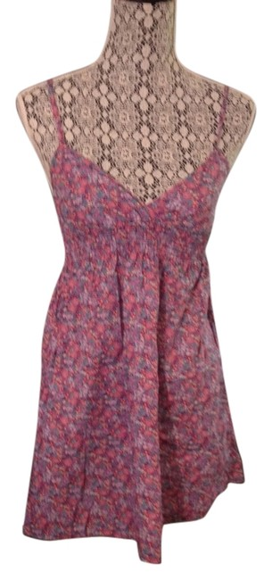 Preload https://item1.tradesy.com/images/divided-by-h-and-m-purple-floral-babydollempire-waist-sundress-mini-short-casual-dress-size-2-xs-5309425-0-0.jpg?width=400&height=650