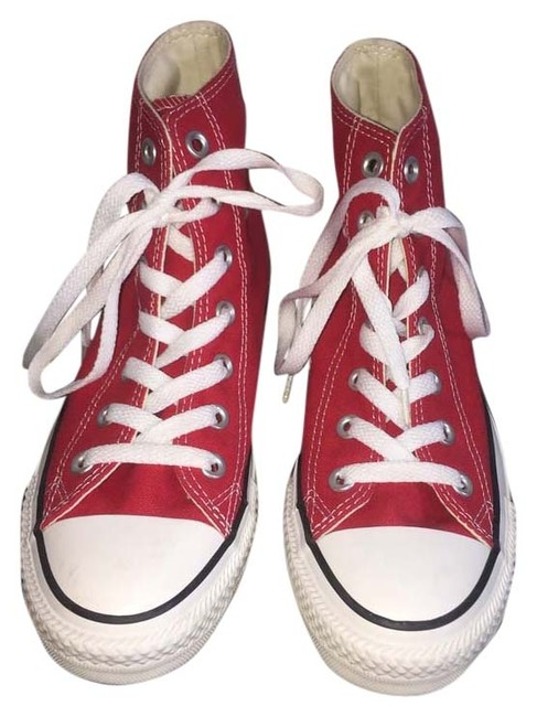 Item - Cherry Red Chuck Taylor All Star Sneakers Size US 7 Regular (M, B)