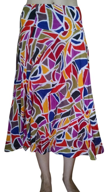 French Connection Skirt Mulit Colored