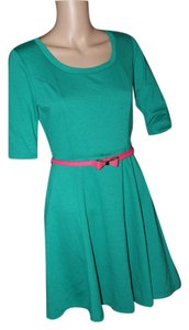 BCX short dress BRIGHT GREEN on Tradesy