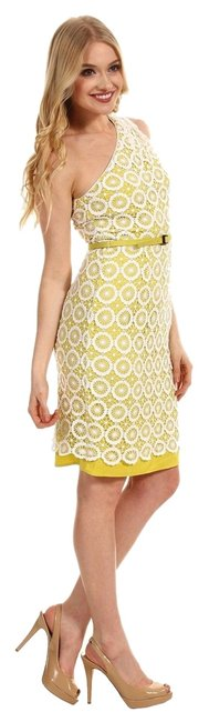 Preload https://item4.tradesy.com/images/vince-camuto-dress-lime-green-and-white-crochet-5309983-0-0.jpg?width=400&height=650